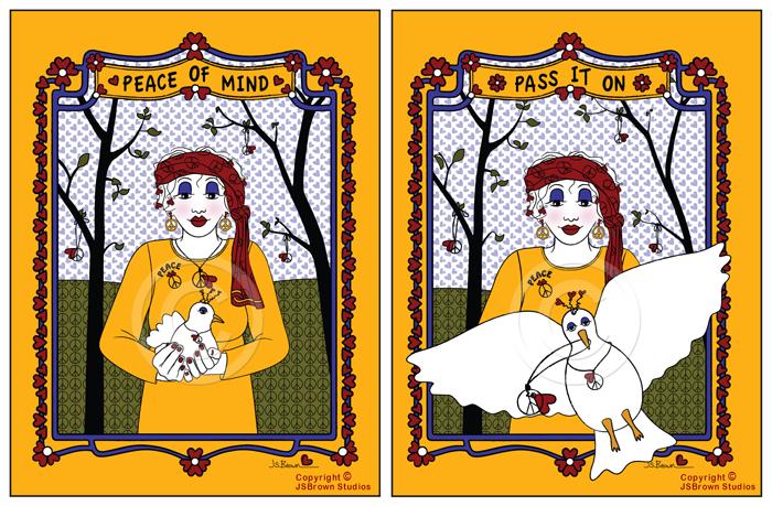 Greeting Cards for Women-JSBrown Studios